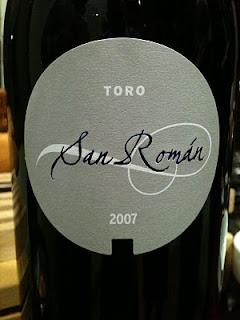san-román-2007-toro-tinto