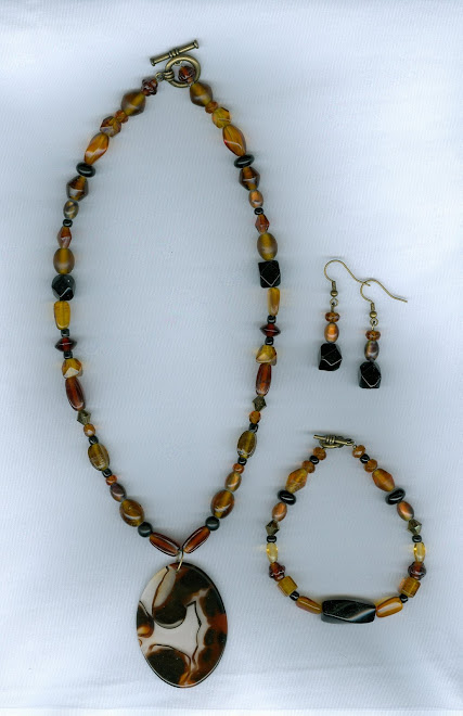 Black and Brown Agate