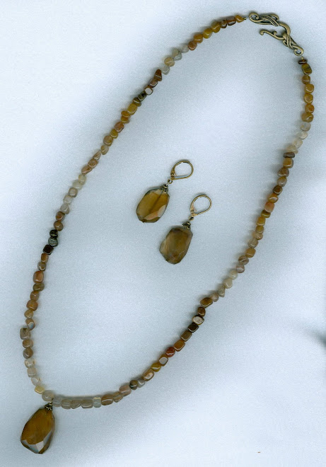 Wood Agate Stone Set