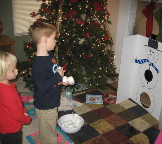 Preschool christmas party games