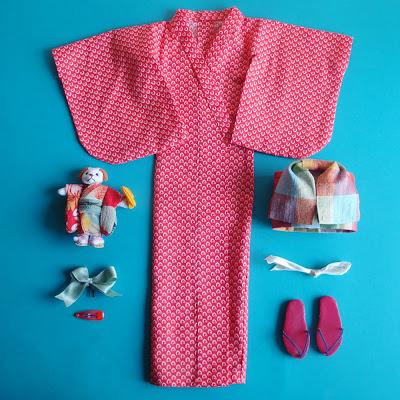 Cartamodelli kimono giapponese