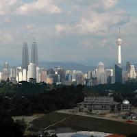 Die neue Istana Negara während der Bauphase