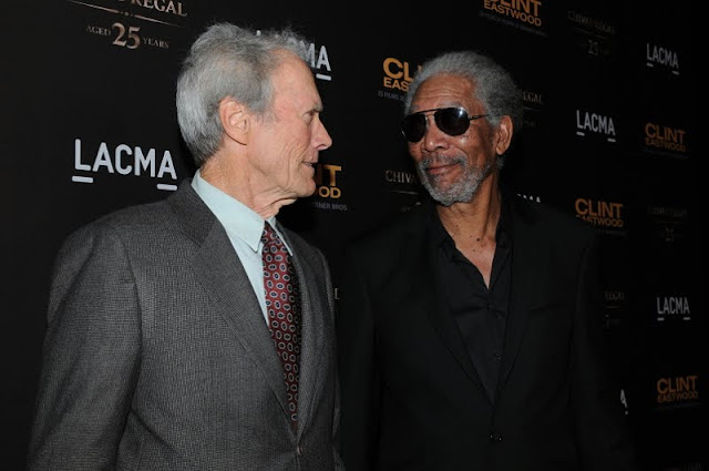 Clint Eastwood y Morgan Freeman images