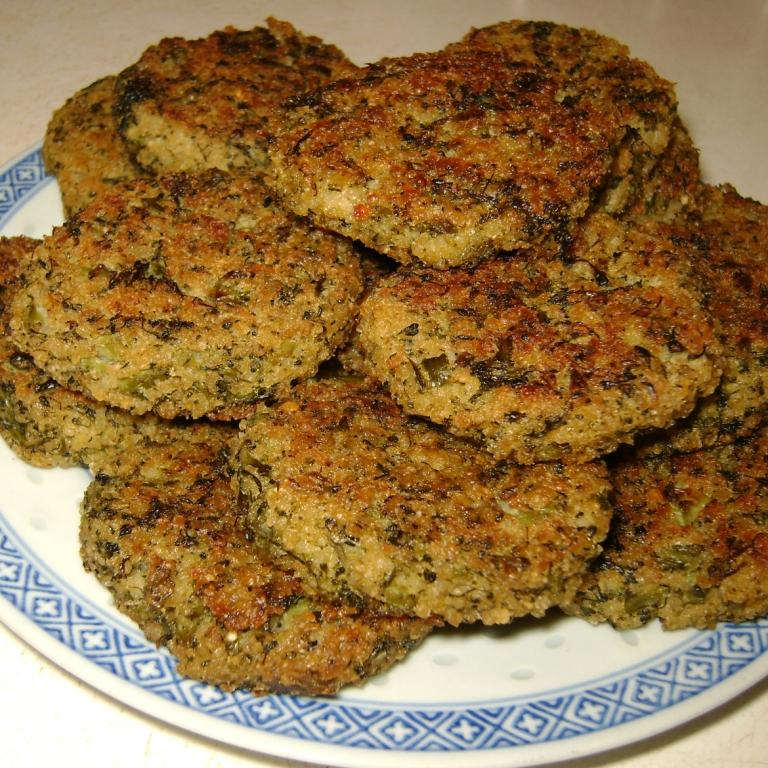 Scrap. Eat. Book.: Broccoli-Millet Croquettes