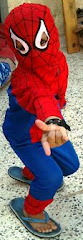 Libyan version of spiderman.. SOHAIB.. my nephew ,,,