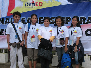 NATIONAL LEADERSHIP TRAINING FOR STUDENT GOVERNMENT OFFICERS