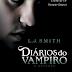 Capa de Anoitecer, o quinto volume de Diários do Vampiro