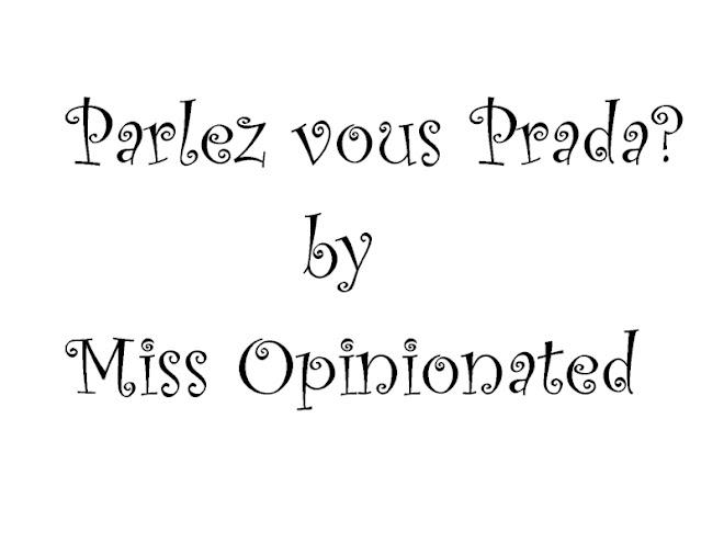 Parlez vous Prada?