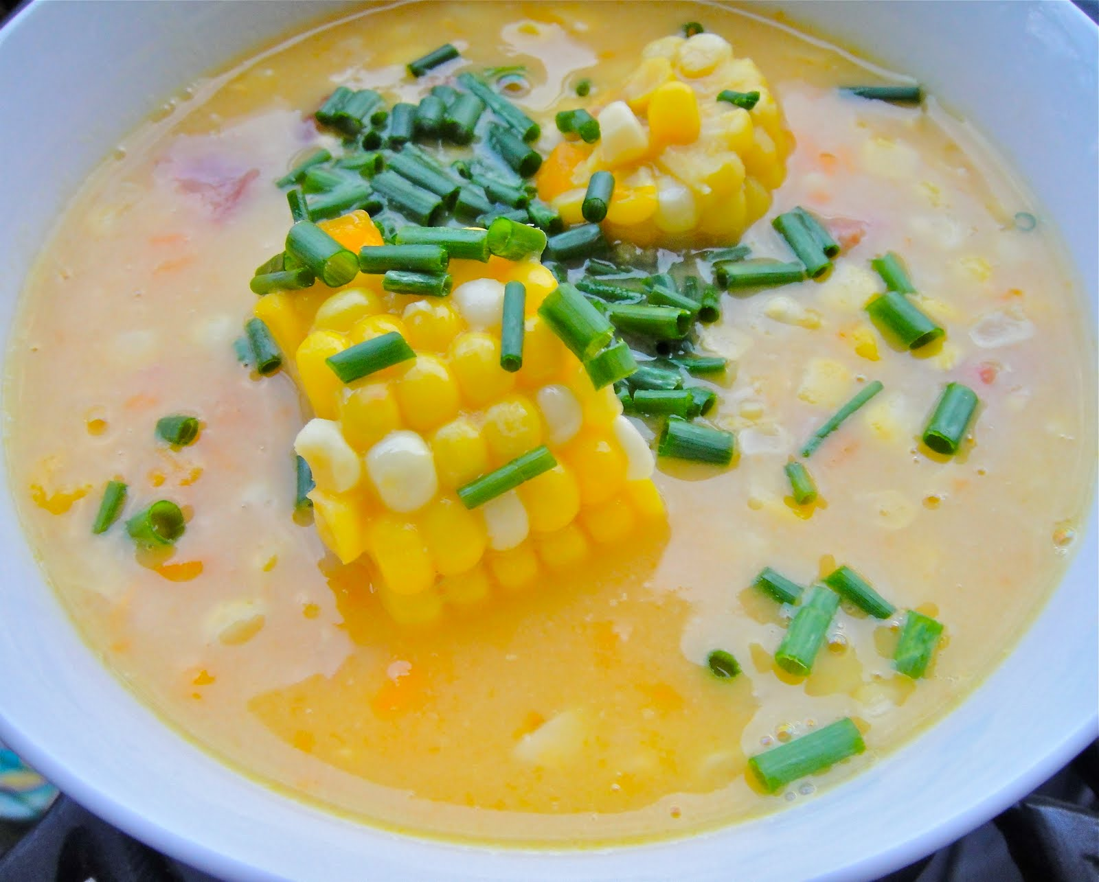 how to make corn soup trinidad style