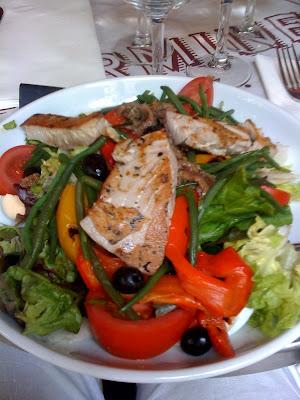 sn2 Gluten Free Lunch in Paris