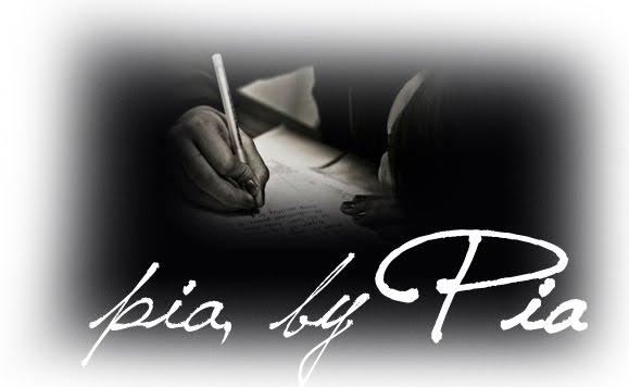 written by pia