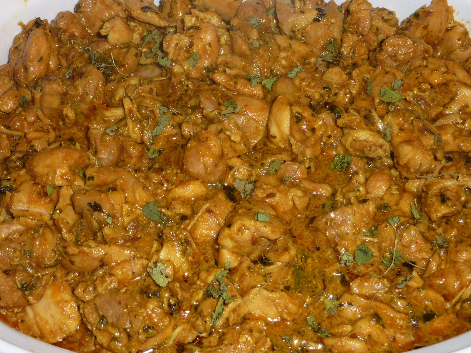 Methi Murgh-Chicken Curry with Fenugreek Leaves | eCurry - The Recipe ...