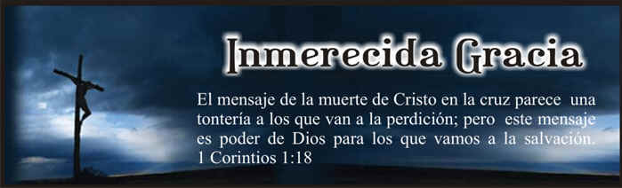 INMERECIDA GRACIA