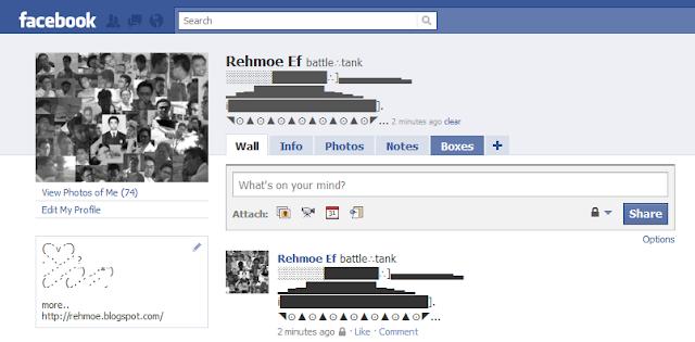 status lihat gambar dibawah contoh status di akun fb ku