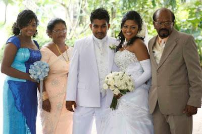 Sri Lankan Comedy Actor Rajitha Hiran (Ping Pongs) Home Coming Photos