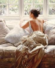 moça na janela