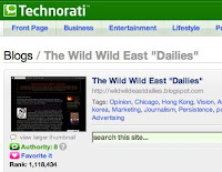 Technorati, top 1%, ranking, rank