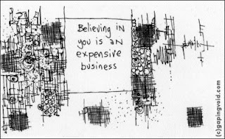 Hugh MacLeod,  Victim, Gapingvoid, Believing, Foreign Direct, Investment, Expensive, Best Reaction, No Reaction, Cartoons