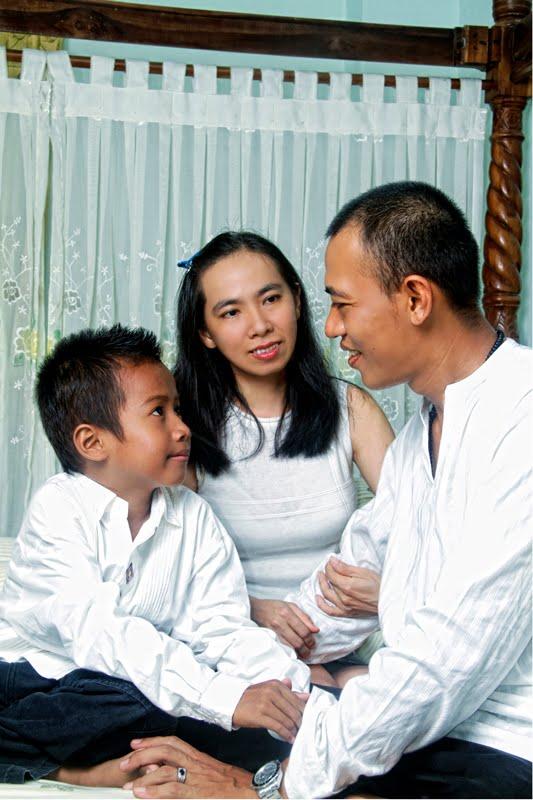 Batik Santai Keluarga