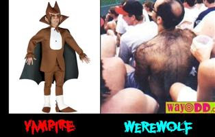 Funny Vampires vs. Werewolves