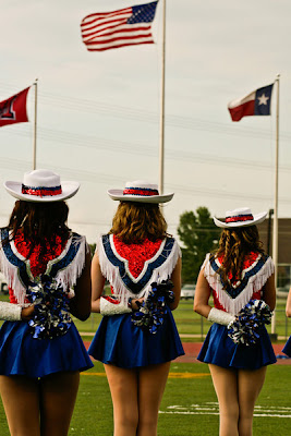 Drill Team girls: a Texas institution of hotness to rival any cheerleader!