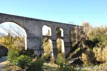 Pont Nou - aqüeducte de 80mt de llargada per 25mt d'alçada.Construït s. XIII i Recuntruït s.  XVIII