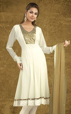 Designer Anarkali Churidar Kurta Online, Indian Fashion Online