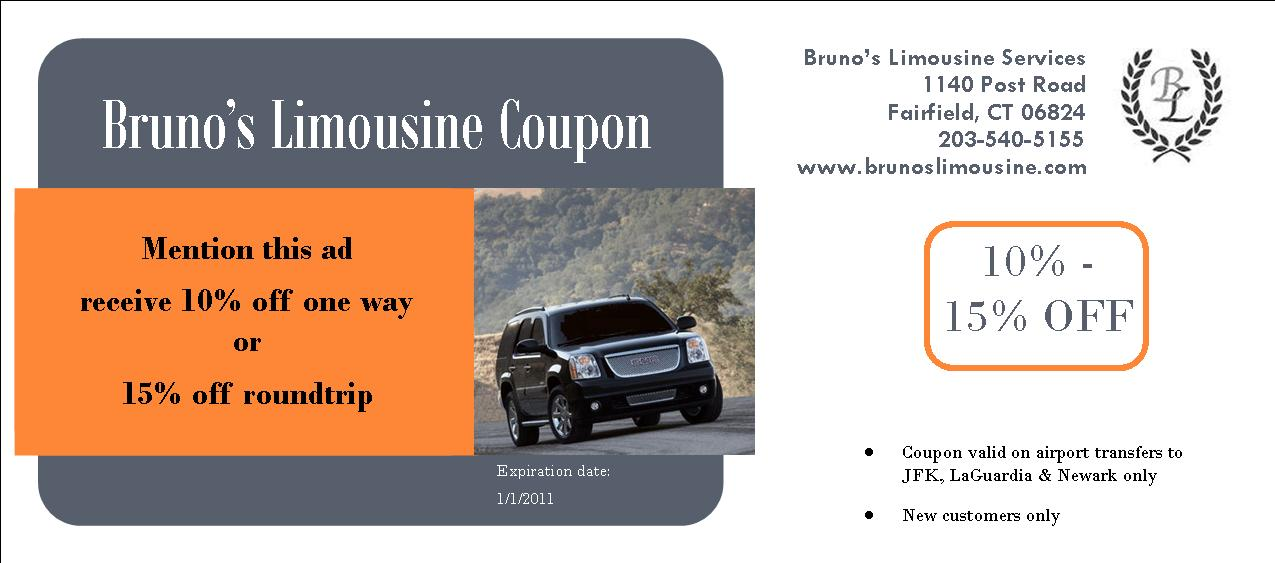Limo discount coupons