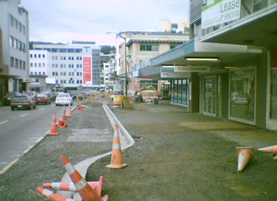 Street widening in Ghuznee St