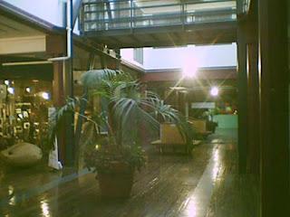 atrium in the Exchange Building between Allen and Blair streets