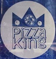 Pizza King logo, Taranaki St