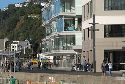 Chaffers Dock & promenade