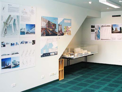 Exhibition of entries for Kumutoto sites 8-10