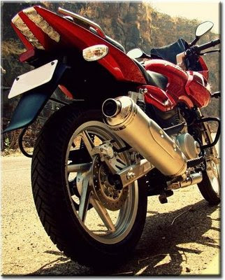 Pulsar 220 Rear Disc Brake