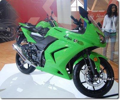 Kawasaki Ninja 250R for India