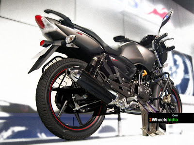 TVS Apache RTR 160 With Performace Kit