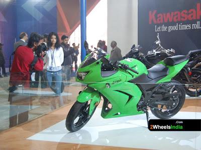 Kawasaki @ Auto Expo 2008