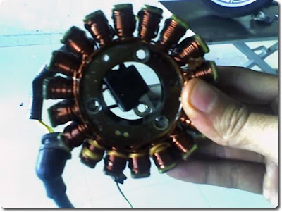 Crank Position Sensor of the Pulsar 220