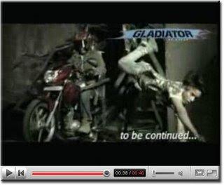 Yamaha Gladiator Grafitti Ad