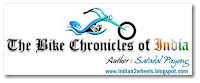 Title Banner for The Bike Chronicles of India