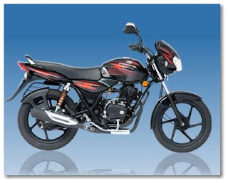All Black Bajaj Discover 125 DTSI