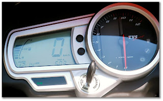 TVS Apache 160 Digital Speedometer