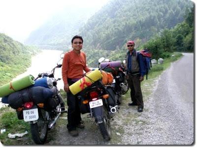 Beautiful Mountain Roads to Manali