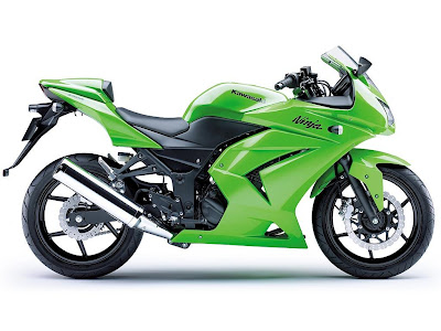 2008 Kawasaki Ninja 250R: Right