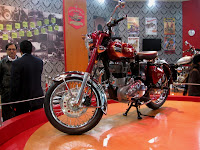 Royal Enfield Classic in Chrome @ AutoExpo 2010