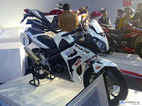 CBR150R @ AutoExpo 2010