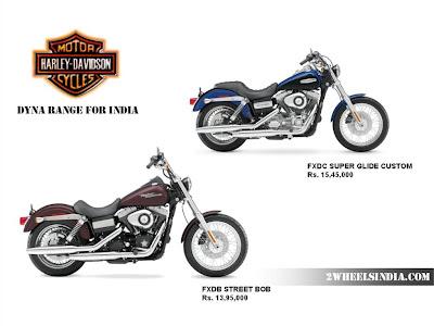 Harley Davidson India Dyna Range