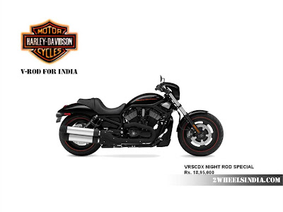 Harley Davidson India V-Rod