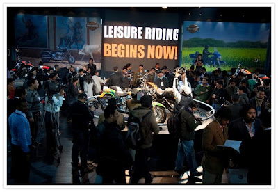 Harley Davidson Launch @ Auto Expo 2010