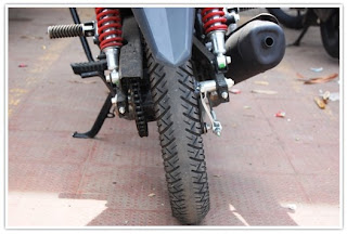 CB Twister Rear Tyre
